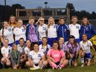 West Muskingum Tornadoes Girls Varsity Soccer Fall 18-19 team photo.