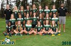Northwest Christian School Crusaders Girls Varsity Soccer Fall 18-19 team photo.