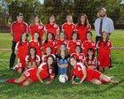Grants Pirates Girls Varsity Soccer Fall 18-19 team photo.