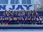 John Jay Indians Girls Varsity Soccer Fall 18-19 team photo.