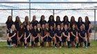 Piedra Vista Panthers Girls Varsity Soccer Fall 18-19 team photo.