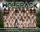 Green Canyon  Girls Varsity Soccer Fall 18-19 team photo.