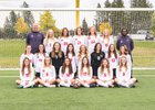 North Central Indians Girls Varsity Soccer Fall 18-19 team photo.