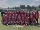 Shelton Highclimbers Girls Varsity Soccer Fall 18-19 team photo.