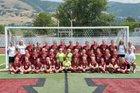 Viewmont Vikings Girls Varsity Soccer Fall 18-19 team photo.