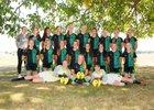 Lynden Lions Girls Varsity Soccer Fall 18-19 team photo.