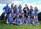 East Mountain Timberwolves Girls Varsity Soccer Fall 18-19 team photo.