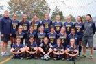 West Seattle  Girls Varsity Soccer Fall 18-19 team photo.