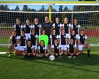 Vashon Island Pirates Girls Varsity Soccer Fall 18-19 team photo.