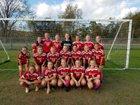 Newark Valley Cardinals Girls Varsity Soccer Fall 18-19 team photo.