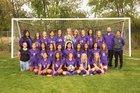 Kirtland Central Broncos Girls Varsity Soccer Fall 18-19 team photo.