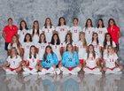 Jamesville-DeWitt Red Rams Girls Varsity Soccer Fall 18-19 team photo.