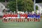 Lutheran West Longhorns Girls Varsity Soccer Fall 18-19 team photo.