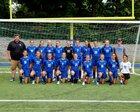 Haldane Blue Devils Girls Varsity Soccer Fall 18-19 team photo.