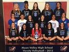 Moon Valley Rockets Girls Varsity Volleyball Fall 15-16 team photo.