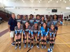 Camden County Wildcats Girls Varsity Volleyball Fall 15-16 team photo.