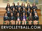 Eagle Rock Eagles Girls Varsity Volleyball Fall 15-16 team photo.