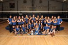 Cotter Warriors Girls Varsity Volleyball Fall 15-16 team photo.