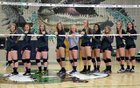 Standley Lake Gators Girls Varsity Volleyball Fall 15-16 team photo.