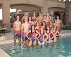 American Leadership Academy Patriots Girls Varsity Swimming Fall 18-19 team photo.