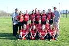 Archbishop Ryan Raiders Girls JV Softball Spring 18-19 team photo.