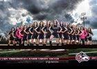 Woodcreek Timberwolves Girls JV Soccer Spring 14-15 team photo.