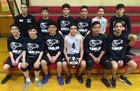 Juarez Eagles Boys JV Volleyball Spring 18-19 team photo.
