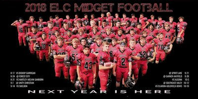 Estherville iowa midget football