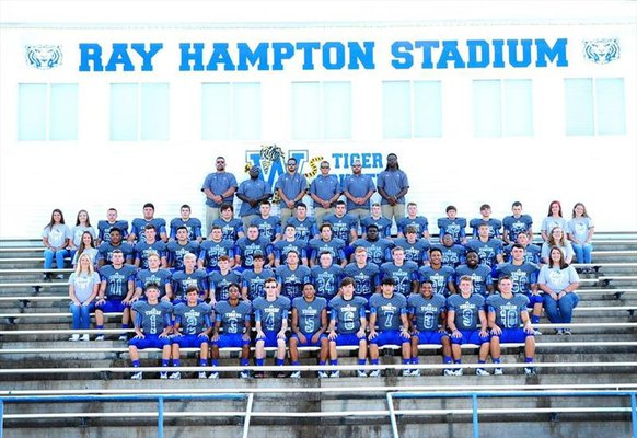 Waverly Central Football team photo.
