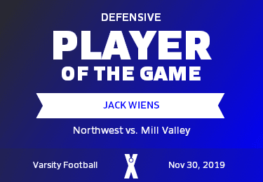 Mill Valley Vs Northwest Football 11 30 2019 Maxpreps