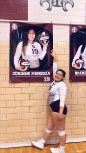 Corinne Mendoza's Girls Varsity Volleyball (Fall) roster photo.