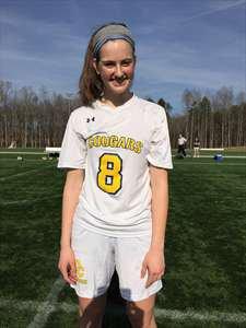 Maggie Shanahan's Girls Varsity Soccer (Spring) roster photo.