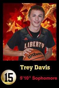 Trey Davis Mug Shot