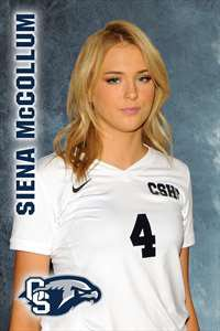 Siena McCollum's Girls Varsity Volleyball (Fall) roster photo.