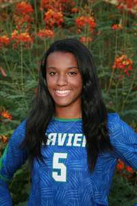 Jasmine Knight's Girls Varsity Volleyball (Fall) roster photo.