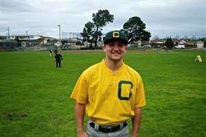 Max Stines' Varsity Baseball (Spring) roster photo.