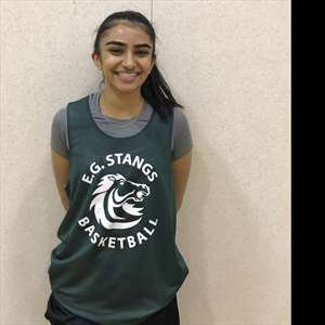 Nisha Kang's Girls Varsity Basketball (Winter) roster photo.