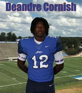 Deandre Cornish's Varsity Football (Fall) roster photo.