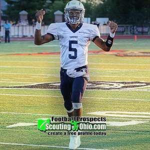 Javez Alexander High School Football Stats Sandusky (Sandusky, OH